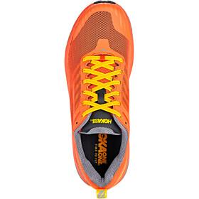 Hoka One One Challenger ATR 5 Running Shoes Men Nasturtium/Frost Gray